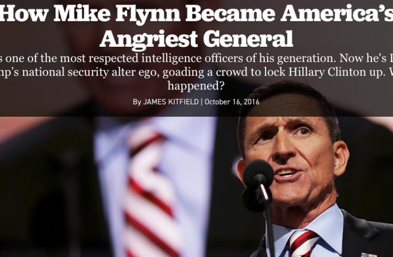 General Mike Flynn Washingtondc